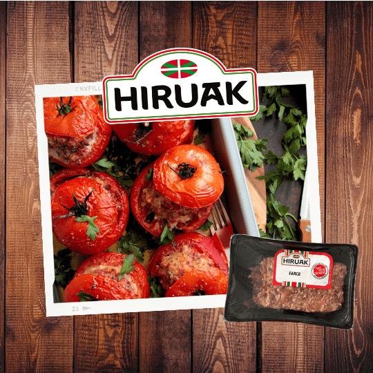 Recette : tomates farcies basques par Hiruak